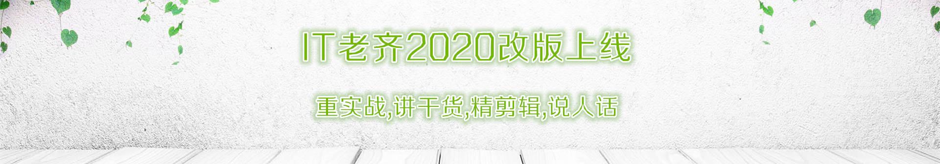 2020新版IT老齐